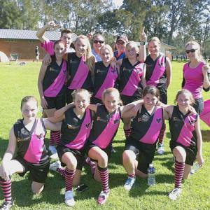 KVB girls team