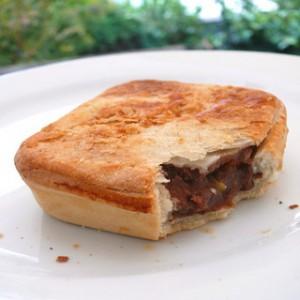 square meat pie